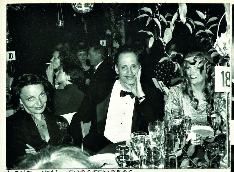 Diane von Furstenberg and John Waters