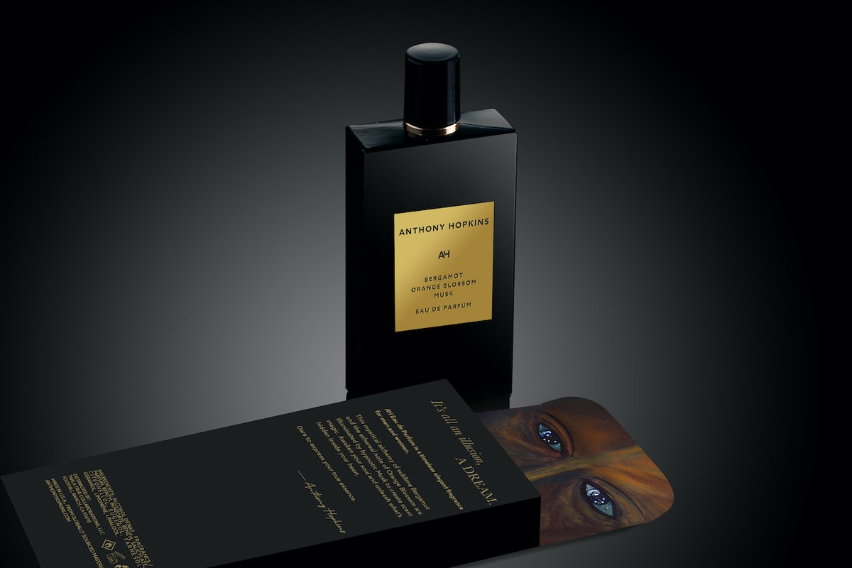 A bottle of Anthony Hopkins's perfume
