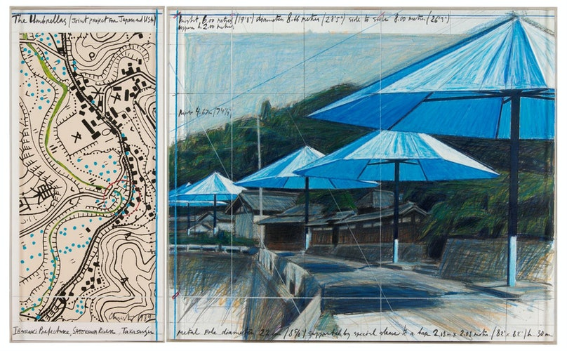 CHRISTO_The Umbrellas_1989_p