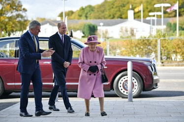 A chemical weapons executive, Prince William, and Queen Elizabeth II