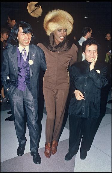 Kenzo Takada, Grace Jones, and Azzedine Alaïa