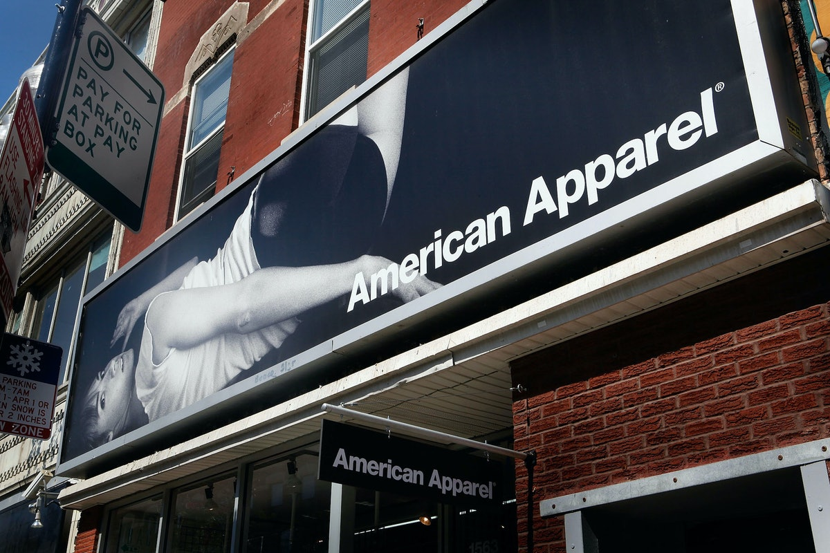 American Apparel façade