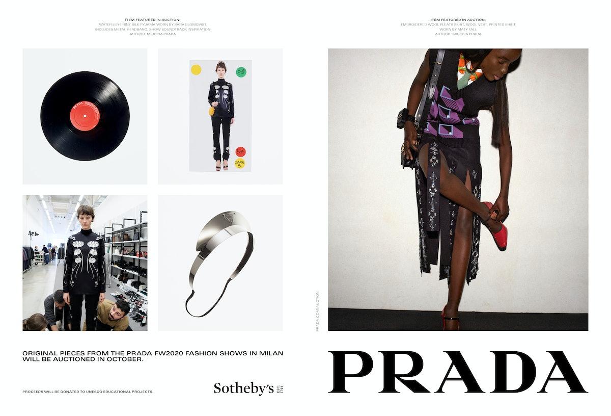 A Prada campaign
