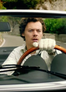 Harry Styles driving