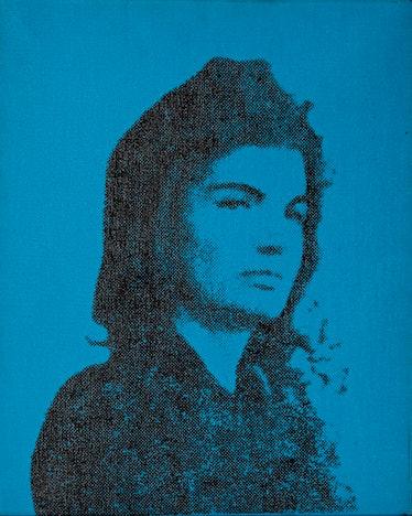 WARHOL, Jackie, photo silkscreen_1964
