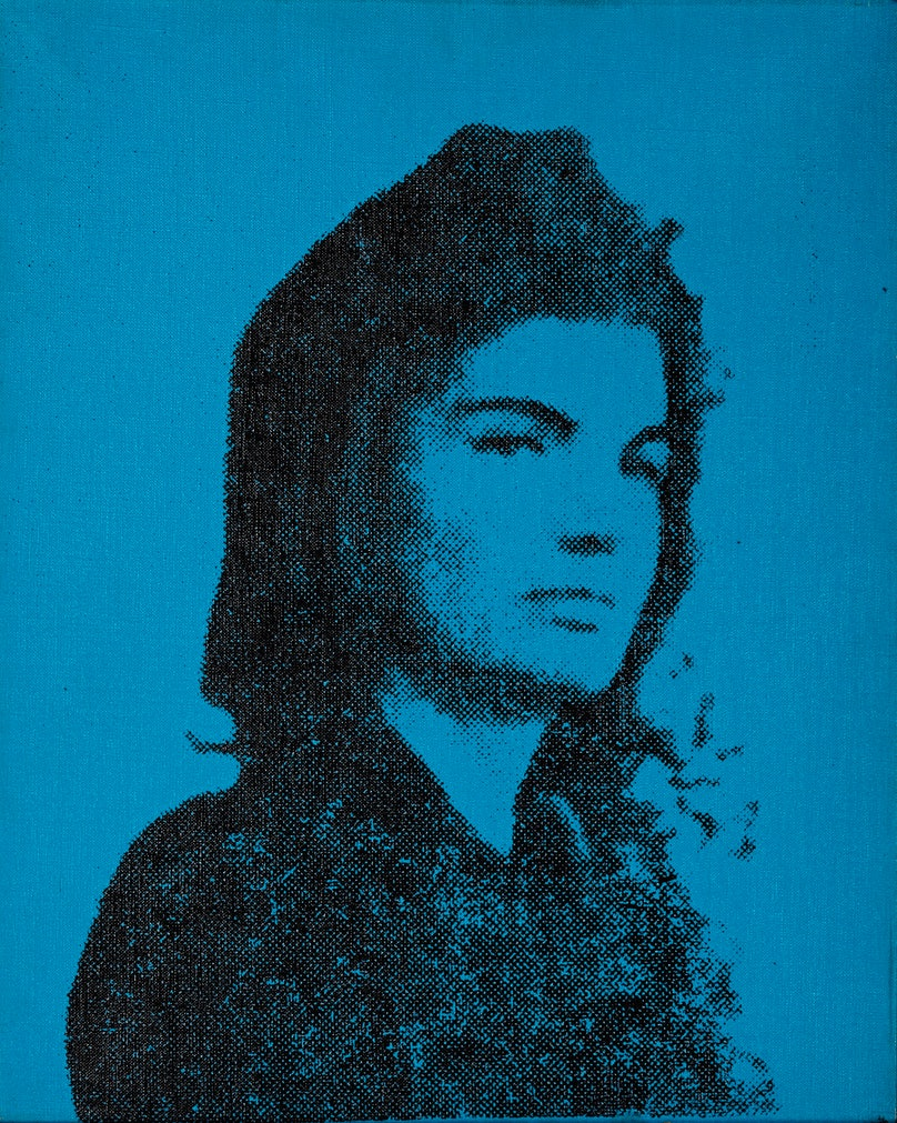 WARHOL, Jackie, photo silkscreen_1964