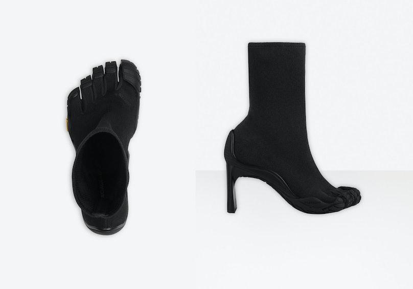 Balenciaga toe heels