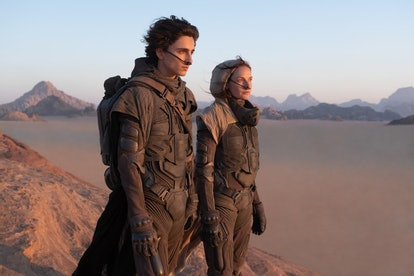 timothee and rebecca ferguson in dune