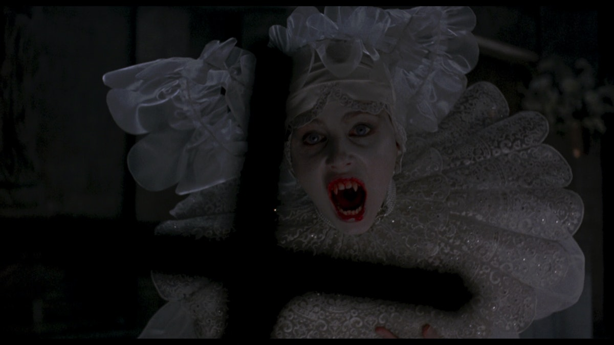 Sadie Frost as a vampire.