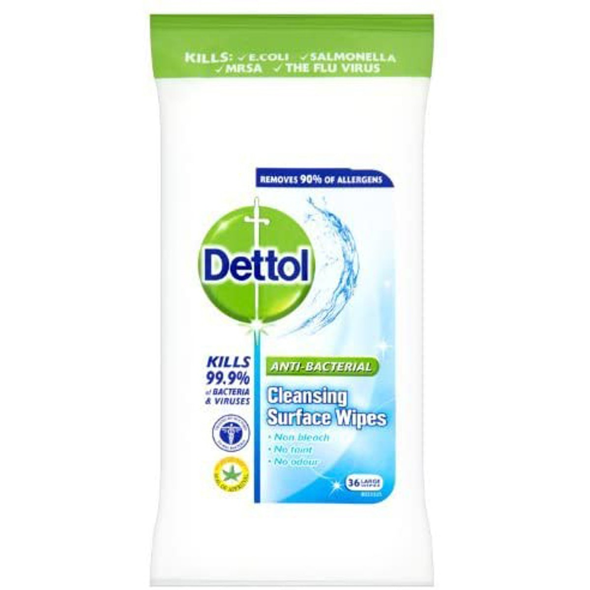 A packet of Dettol wipes