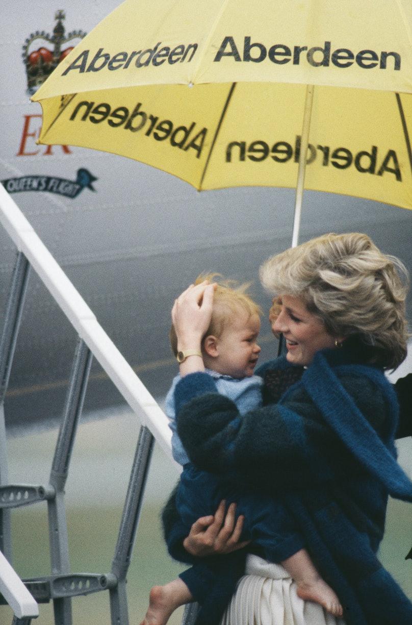 Prince Harry and Princes Diana