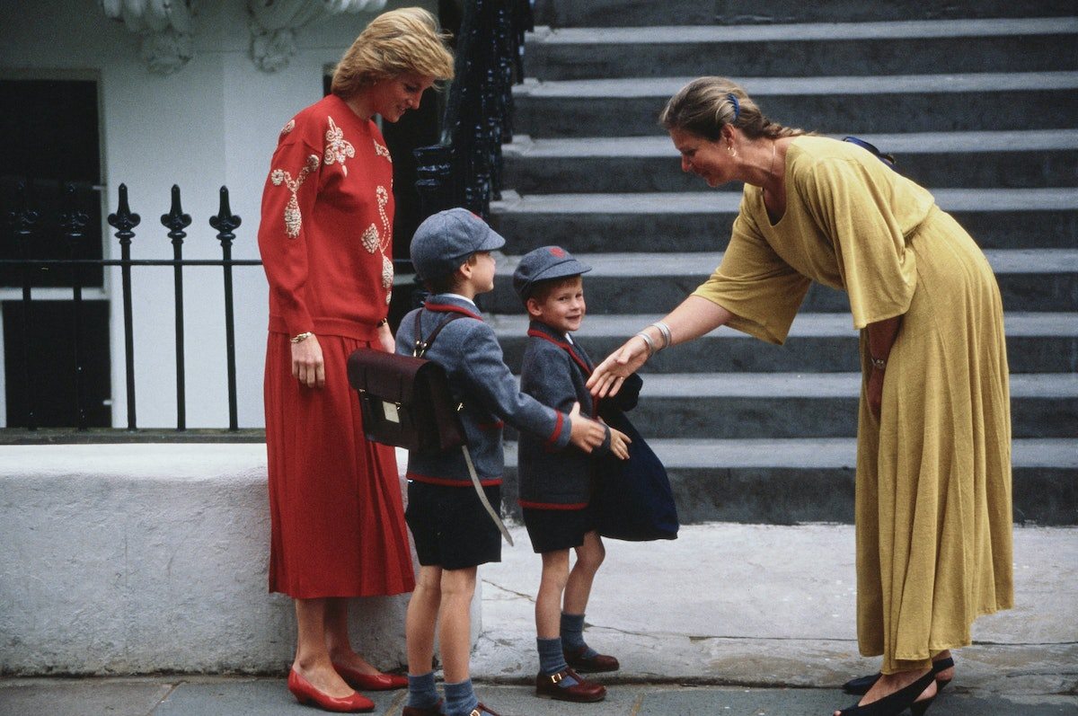 Prince Harry's First Day of school