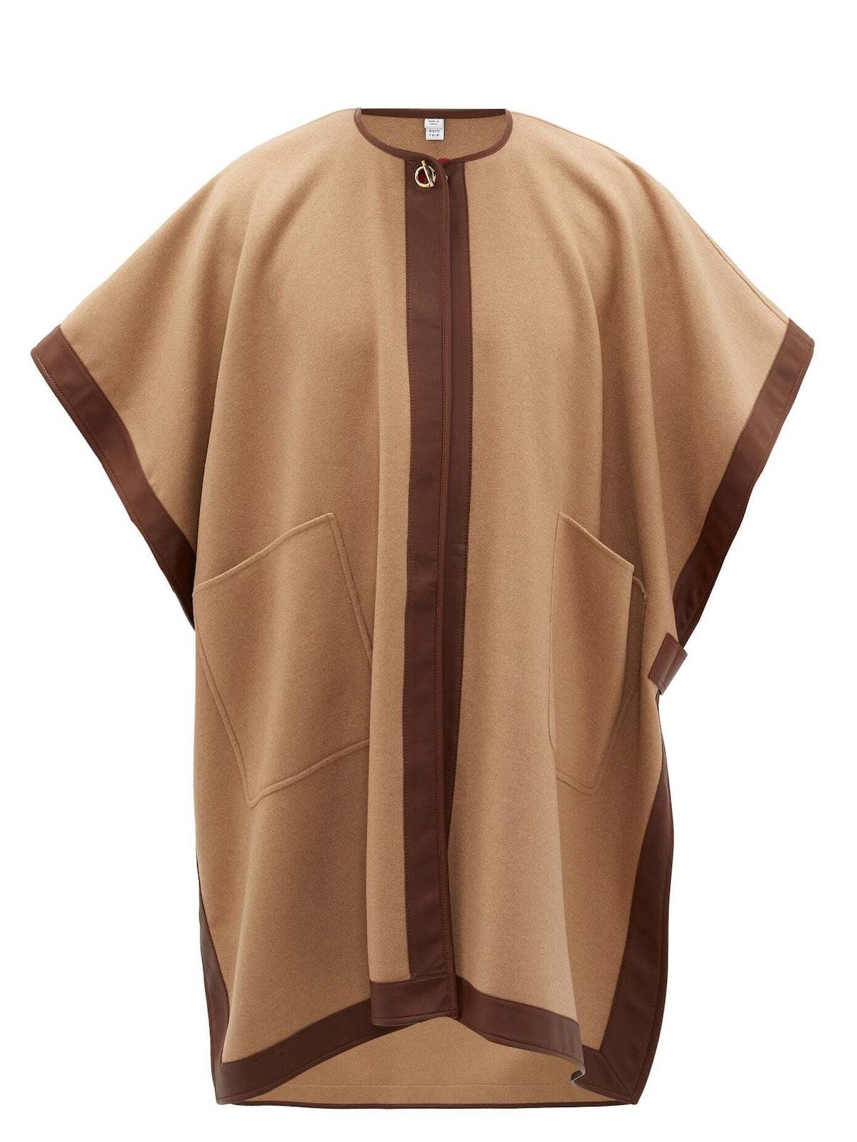 A Burberry cape