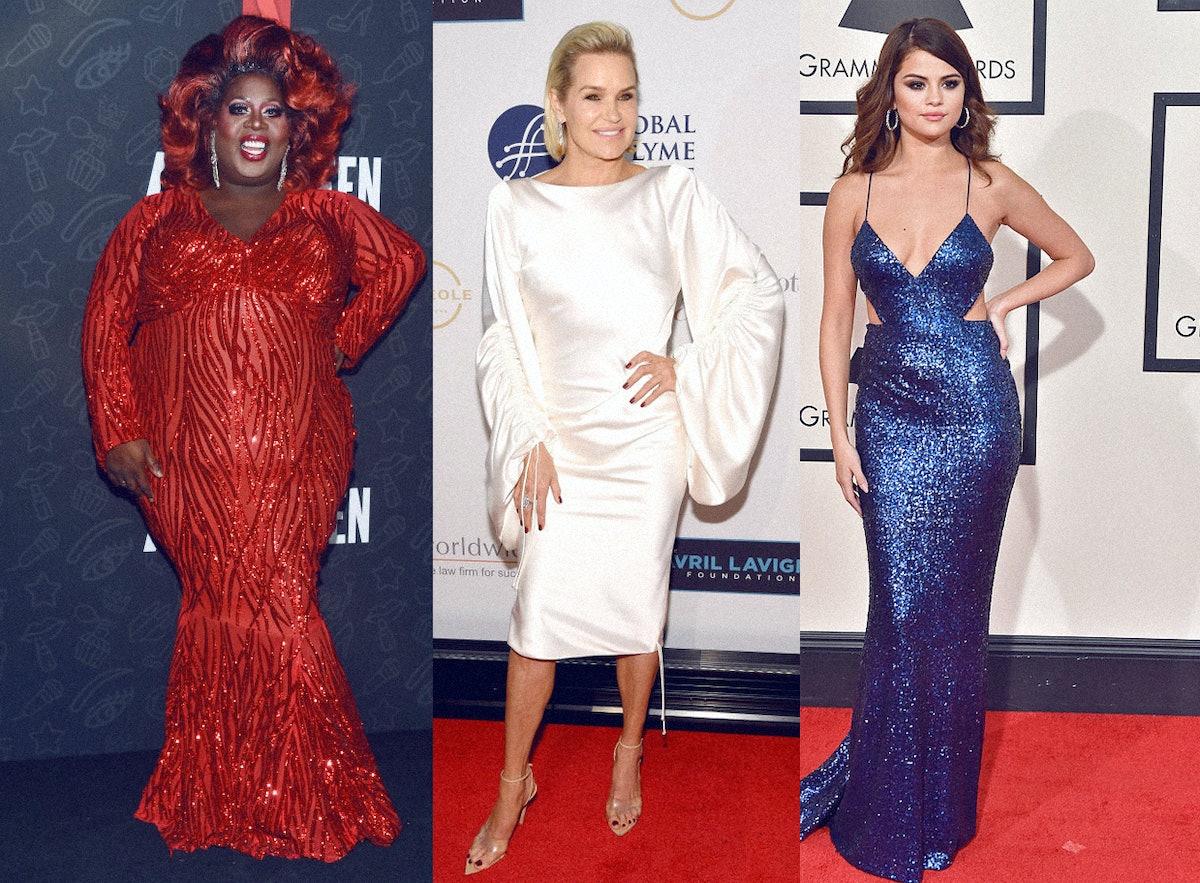 Latrice Royale, Yolanda Hadid, & Selena Gomez