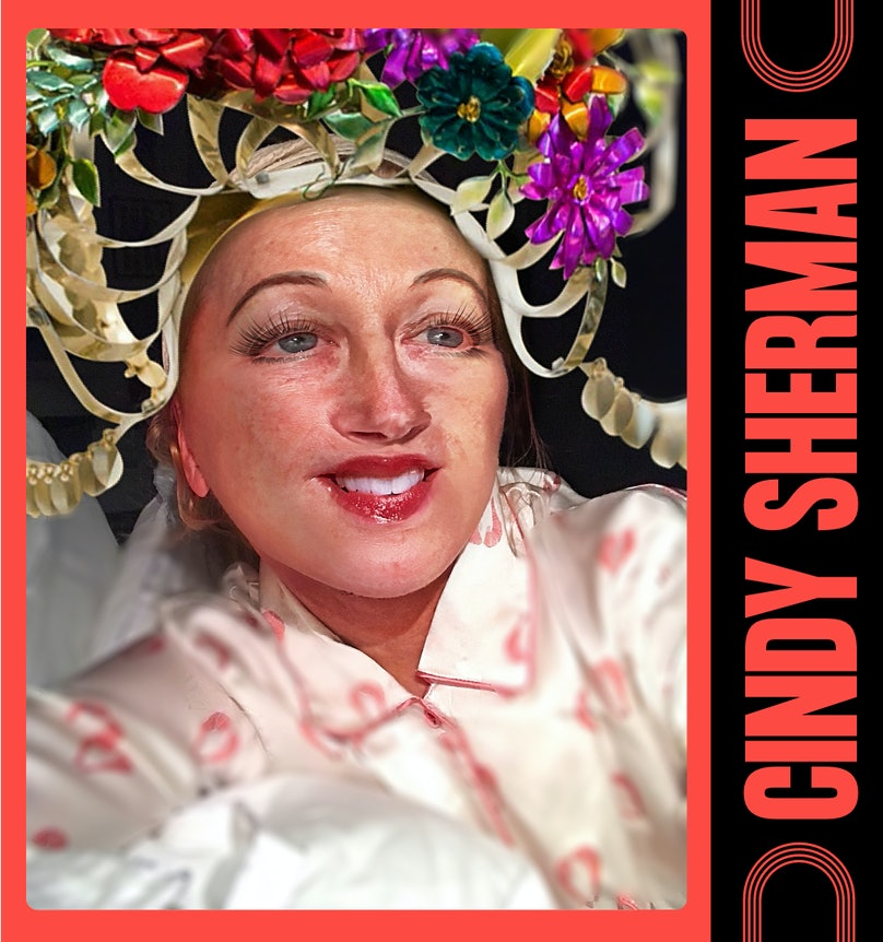 Cindy Sherman card for double dutch charity