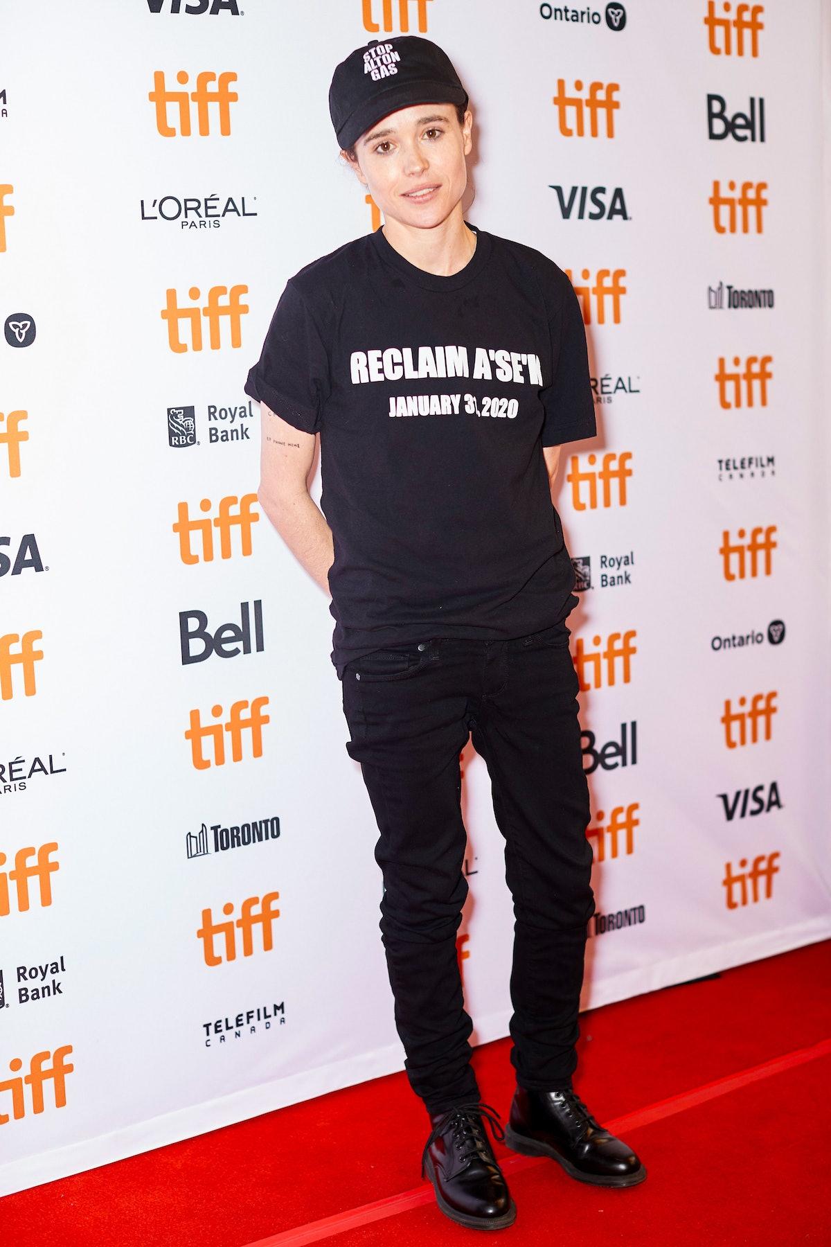 Actor Elliot Page