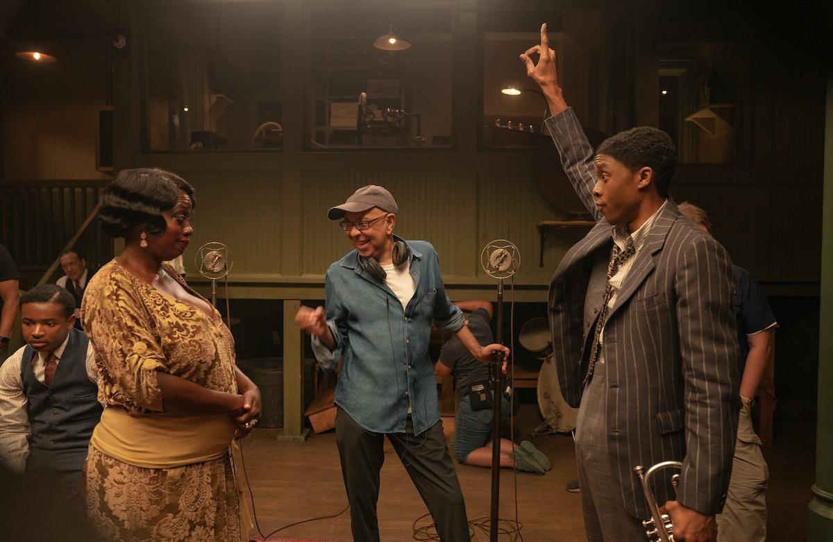 Viola Davis and Chadwick Boseman