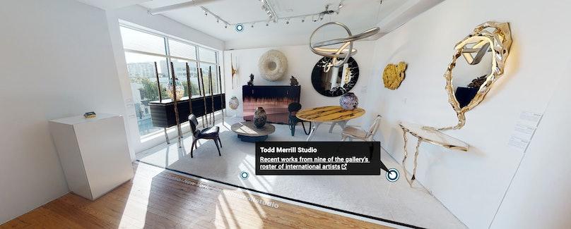 Design Miami/'s 2020 virtual experience.