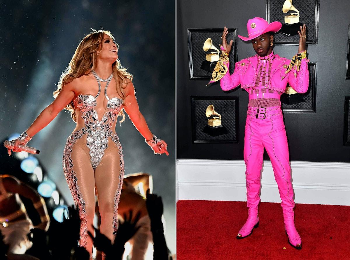 Lil Nas X and Jennifer Lopez