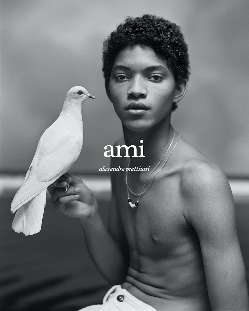 Jeranimo Van Russel in an AMI campaign