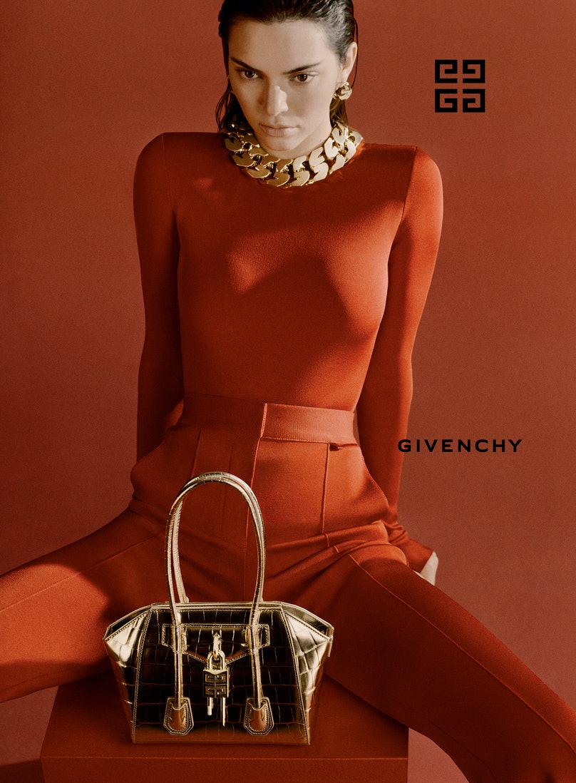 Kendall Jenner in a Givenchy campaign