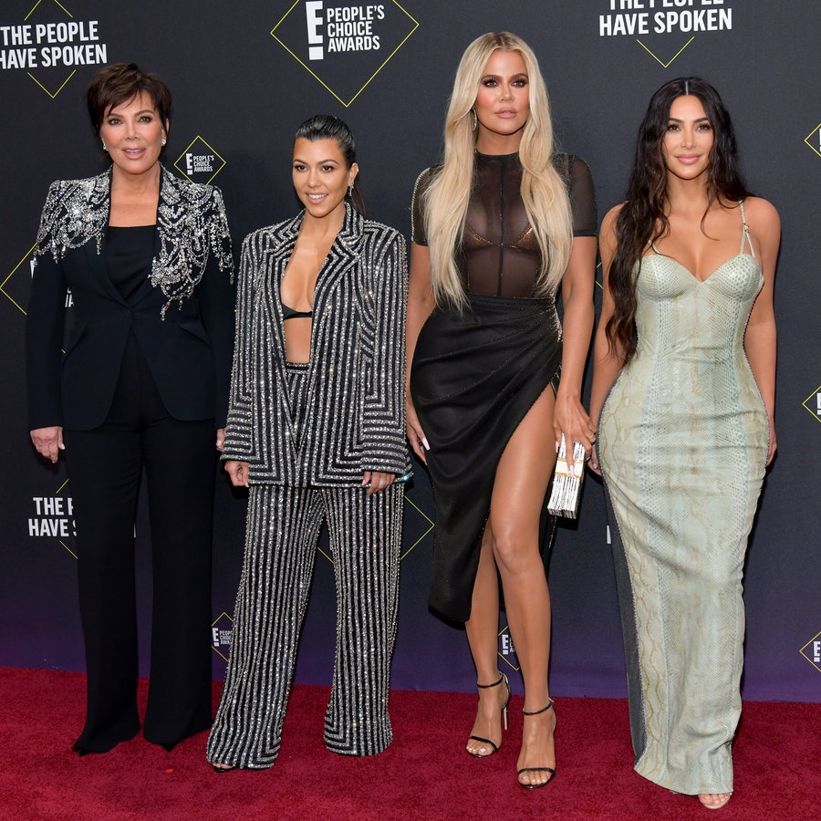 kris kourtney khloe kim