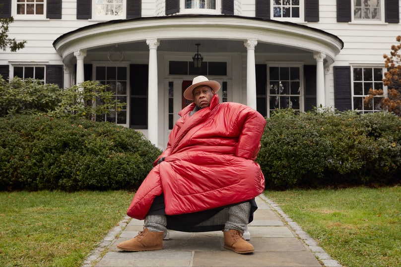 André Leon Talley in an Ugg campaign