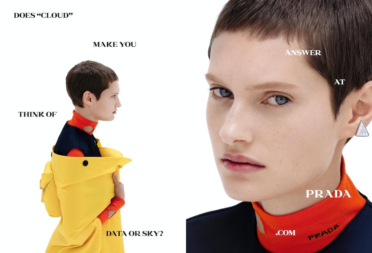 The spring 2021 Prada campaign