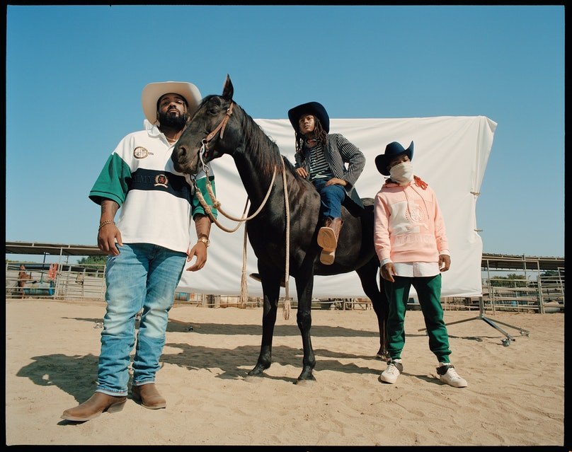 The Compton Cowboys' Tommy Hilfiger campaign