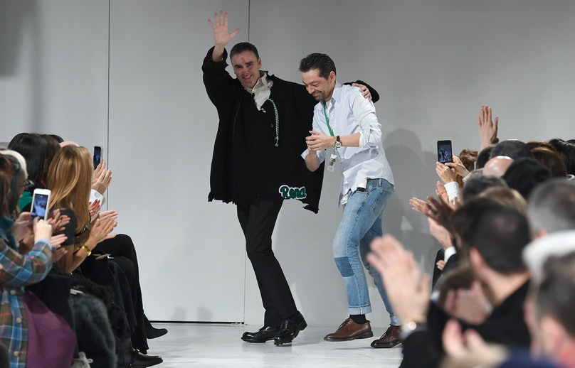 Raf Simons and Pieter Mulier