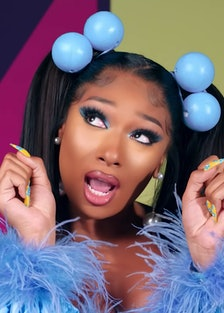 Meghan Thee Stallion in the Cry Baby video
