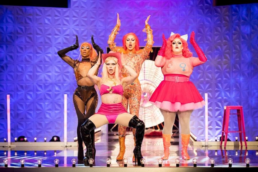 Contestants from RuPaul's Drag Race UK