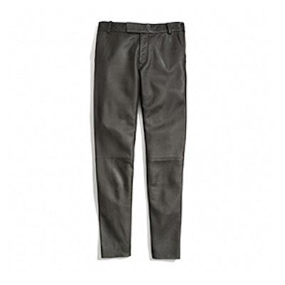 Leather Cigarette Trouser