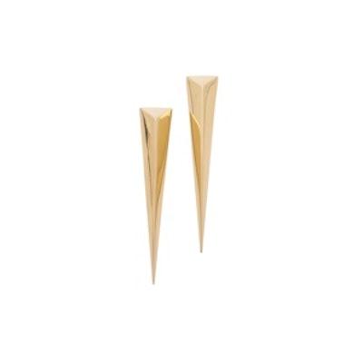 Pyramid Post Earrings