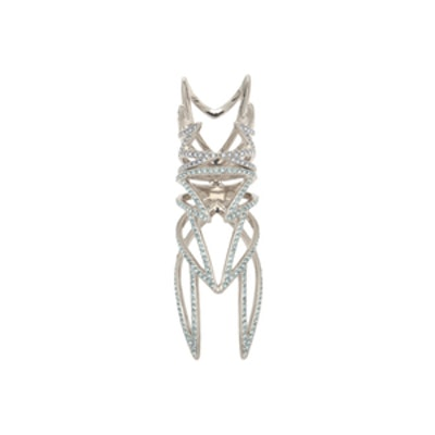 Pave Winged Ring