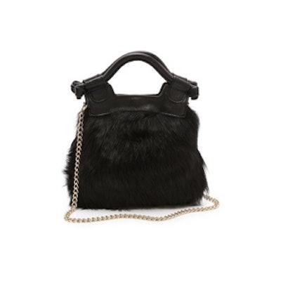 Shearling Crossbody Bag