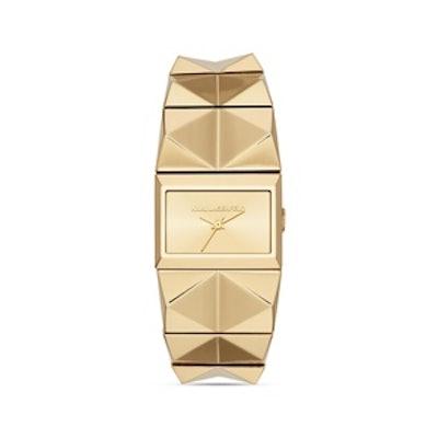 Studded Bracelet Watch