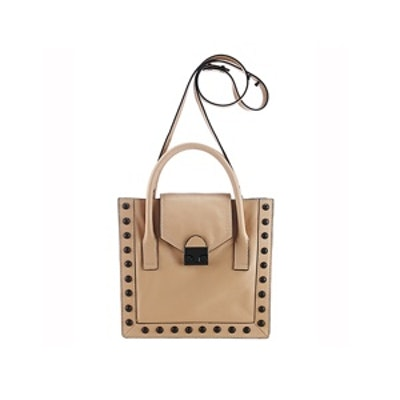 Studded Work Tote