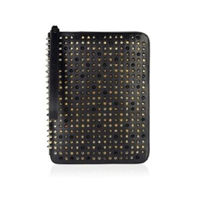 Studded Leather iPad Case