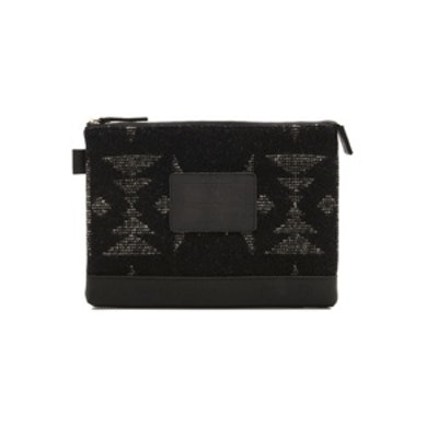 The Portland Collection Wool Clutch