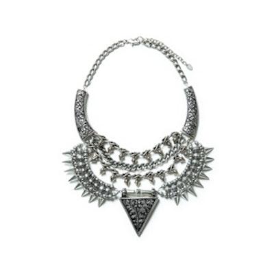 Triangular Studded Necklace