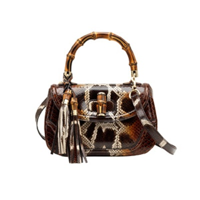 Python Top Handle Bag