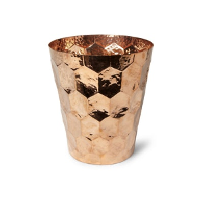 Hammered Copper Champagne Bucket