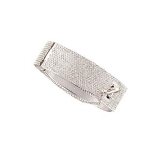 Pave Safety Chain Cuff