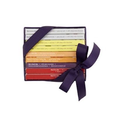 Mini Exotic Chocolate Bar Library