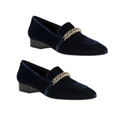 Chain Buckle Slippers