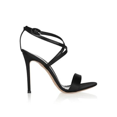 Silk-Satin Sandals