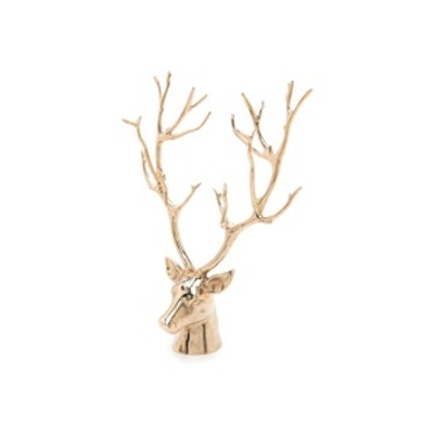 Gold Stag Bust