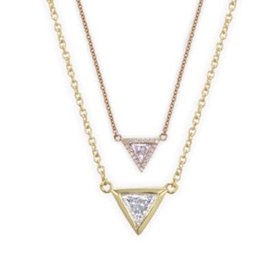 Trillion Diamond Necklace