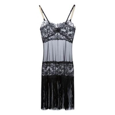 Tassel Lace Night Dress